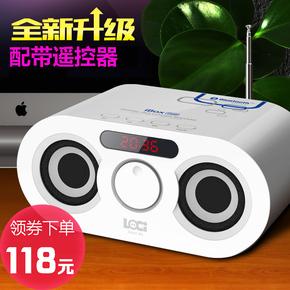迷你蓝牙音箱可插卡usb小音响 儿童MP3音乐播放器收音机U盘低音炮