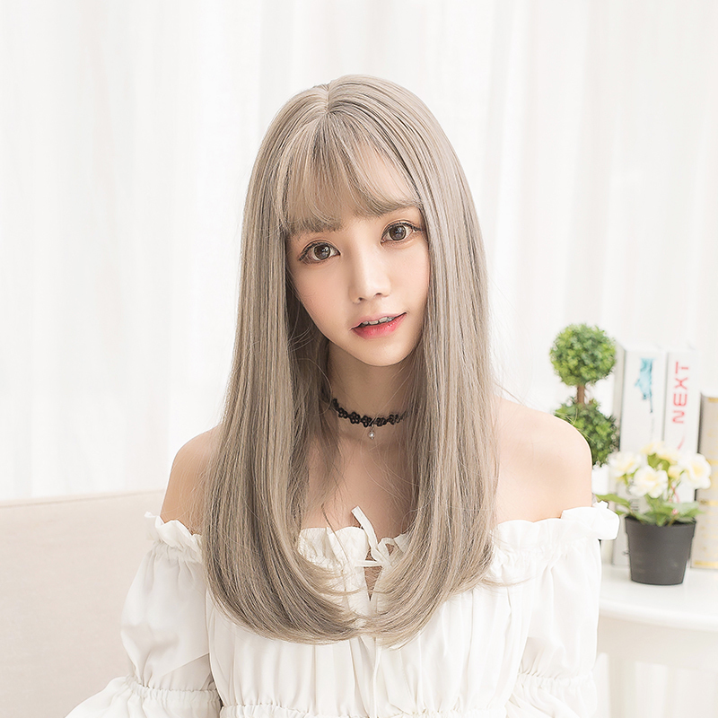 长卷发假头发女韩国
