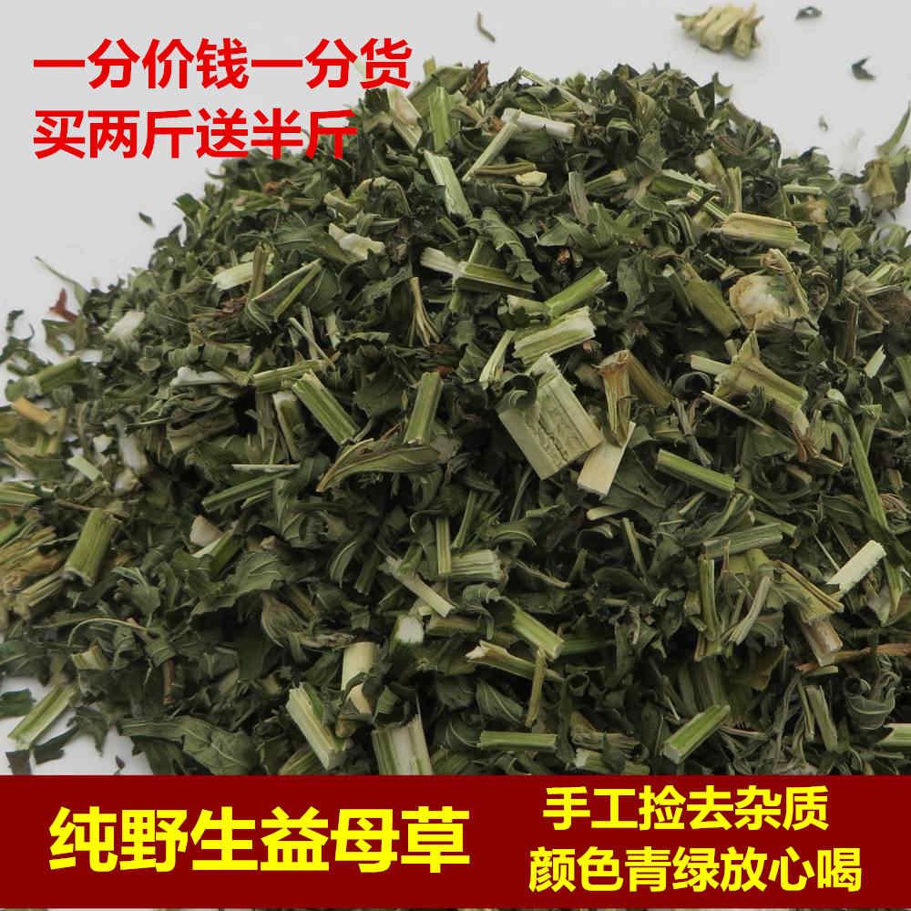 中药材当年新货野生益母草女性伴侣益母草茶500克包邮两斤送半斤