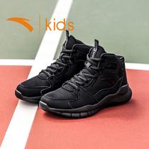 安踏儿童篮球鞋男高帮鞋子男童运动鞋大童小学生球鞋冬季kids童鞋