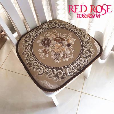 高档欧式餐椅垫中式实木椅垫套坐垫布艺椅子垫子餐桌椅坐垫可机洗正品热卖