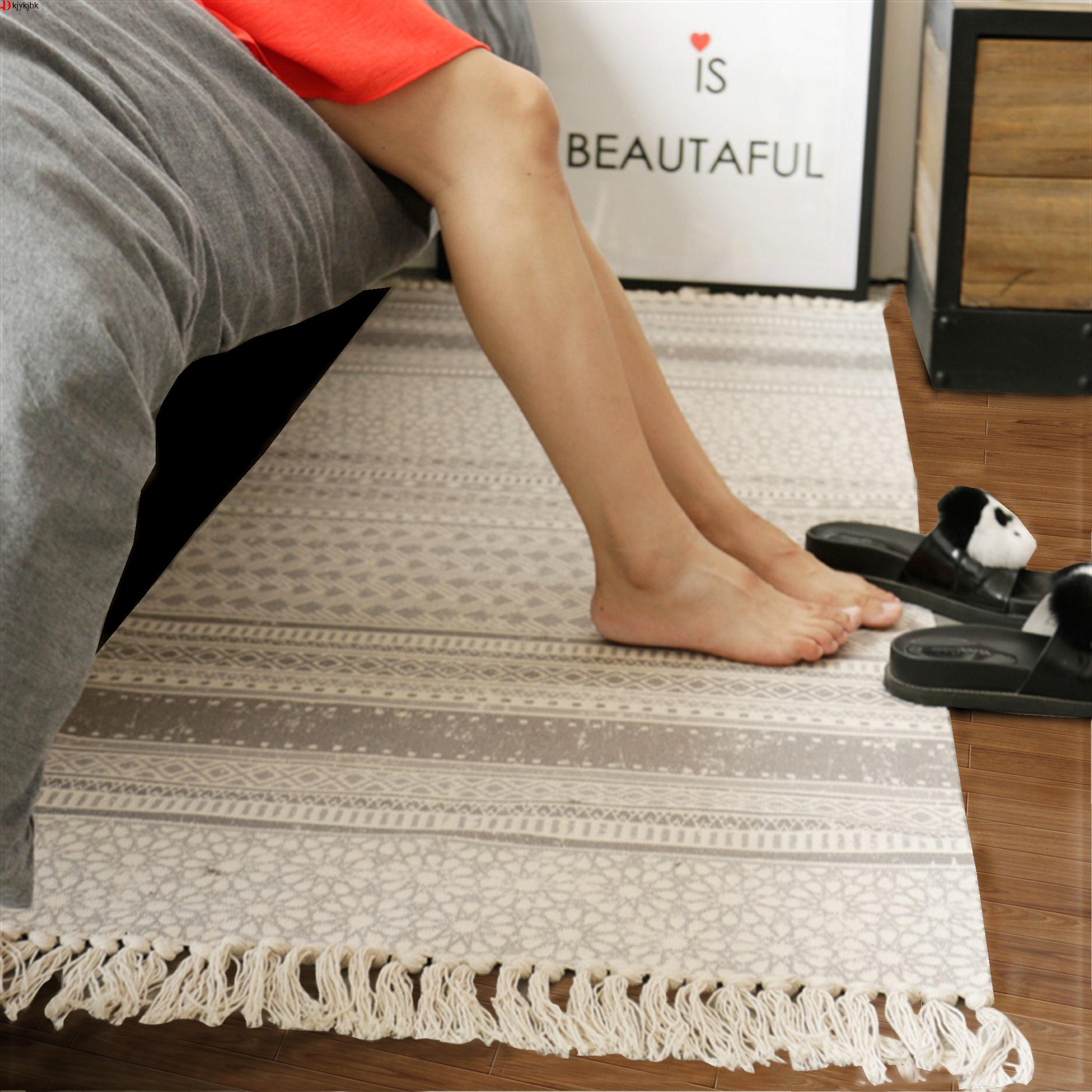 床尾毯卧室欧式