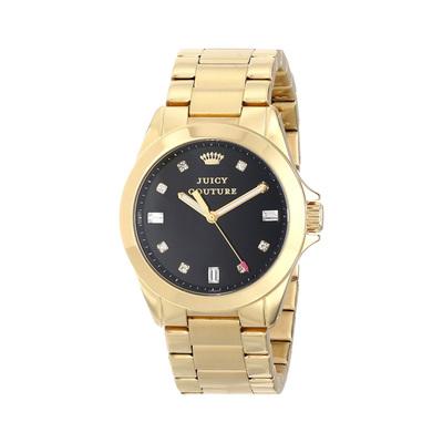 新款时尚潮流金色镶钻女式腕表手表女生日本进口机芯精钢带手表怎么样