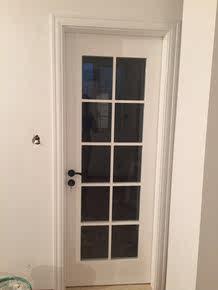 阿木木玻璃门平开门卫生间卧室门套装门烤漆房门室内门实木复合