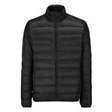 凡客羽绒服男士 VANCL可收纳便携超轻薄羽黑色绒服 90绒冬季男装