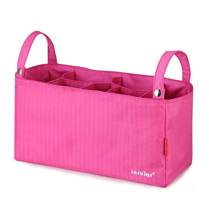 妈咪包母婴包内胆分隔包多功能外出婴儿推车童车挂包收纳袋带提手