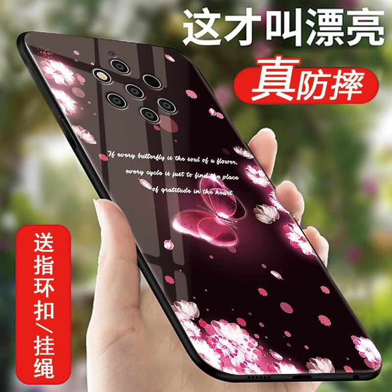 诺基亚9pureview手机壳创意软硅胶防摔Nokia9pure View保护套全包边个性潮