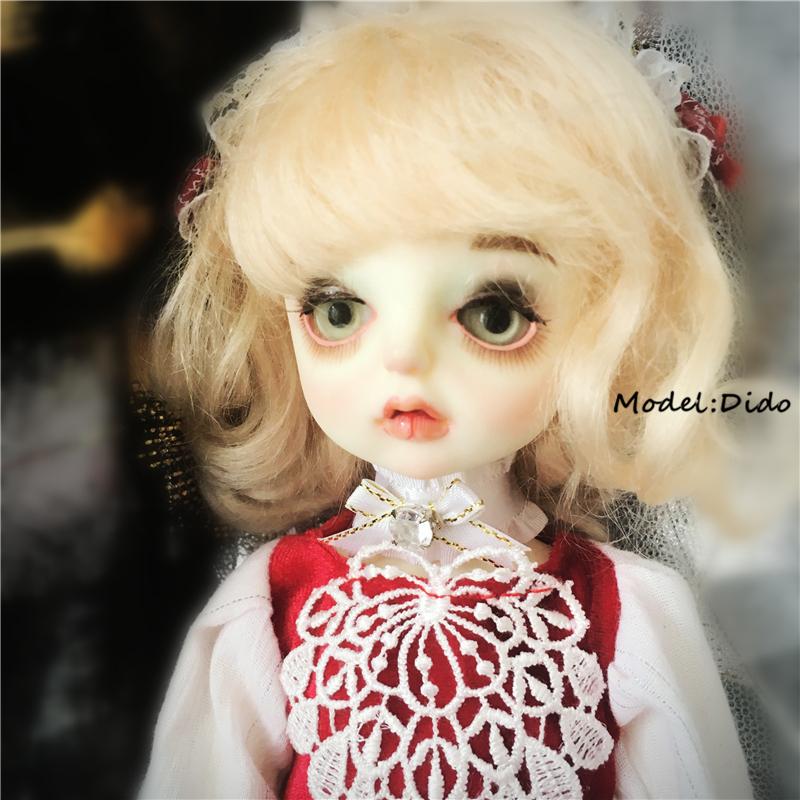 特殊尺寸定制blythe小布BJD6分8分ob娃娃衣服洋装连衣裙套装