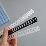 A4 loose-leaf DIY accessories punching machine porous 30-hole round-hole coil binding strip plastic binder A5 B5 binder 26 holes 20 holes 9 holes 6 holes