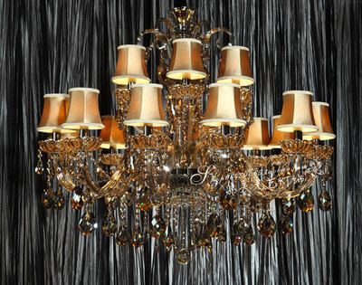 集美欧式豪华水晶灯正品客厅灯具卧室餐厅灯蜡烛水晶灯89055特价