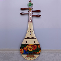 乐魂琵琶乐器专业考试演奏酸枝木白牛角轴琵琶琴指甲配件厂家直销