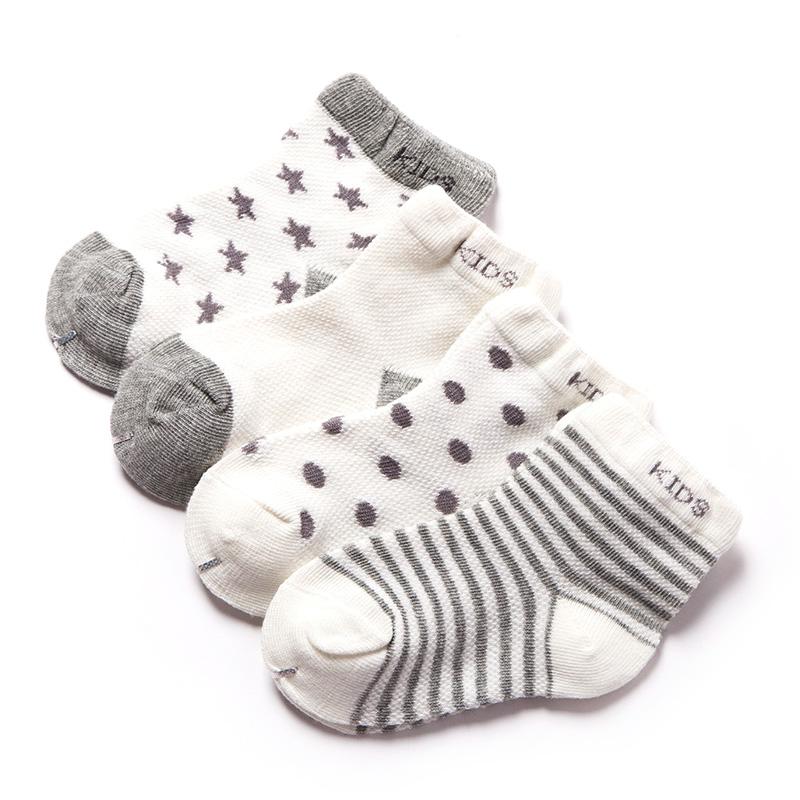 儿童棉袜子夏季薄款童袜网眼透气宝宝中大童纯棉袜男童女童婴儿袜