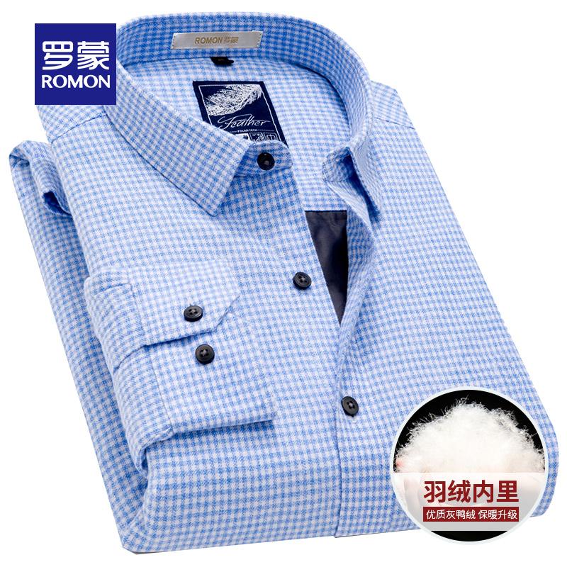 薄羽绒衬衫