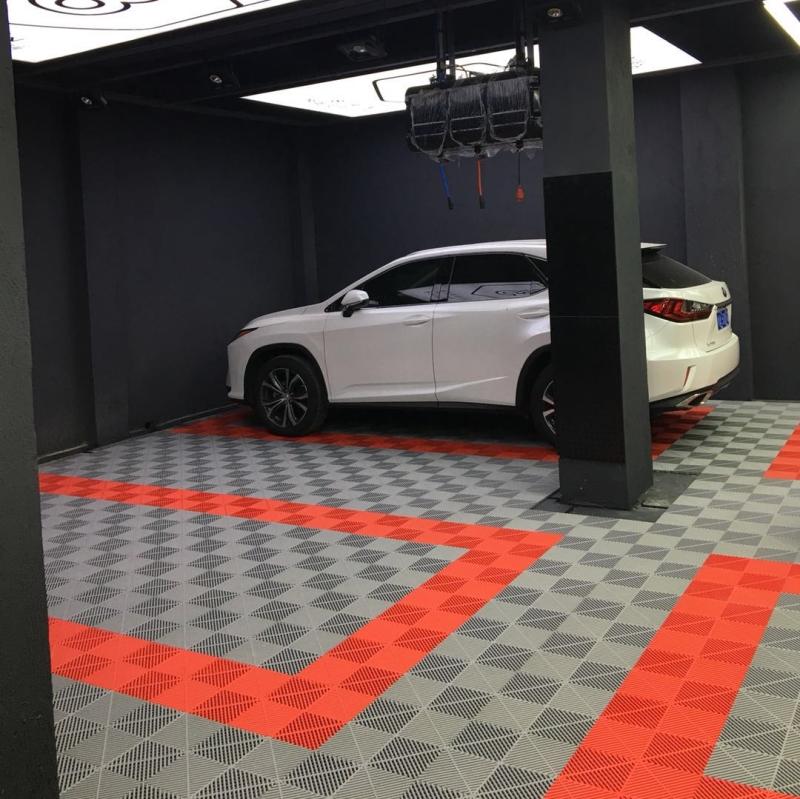 洗车店塑料拼接板格栅3漏水网格漏缝地板防滑垫玻璃钢车库1.8浴室