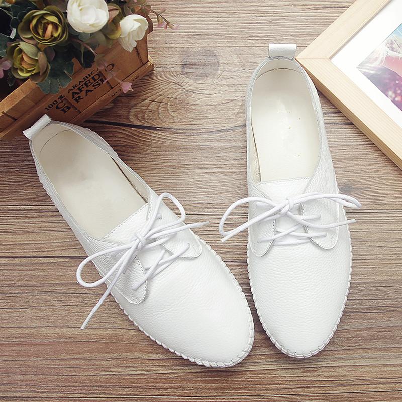 淑女白色淑女鞋