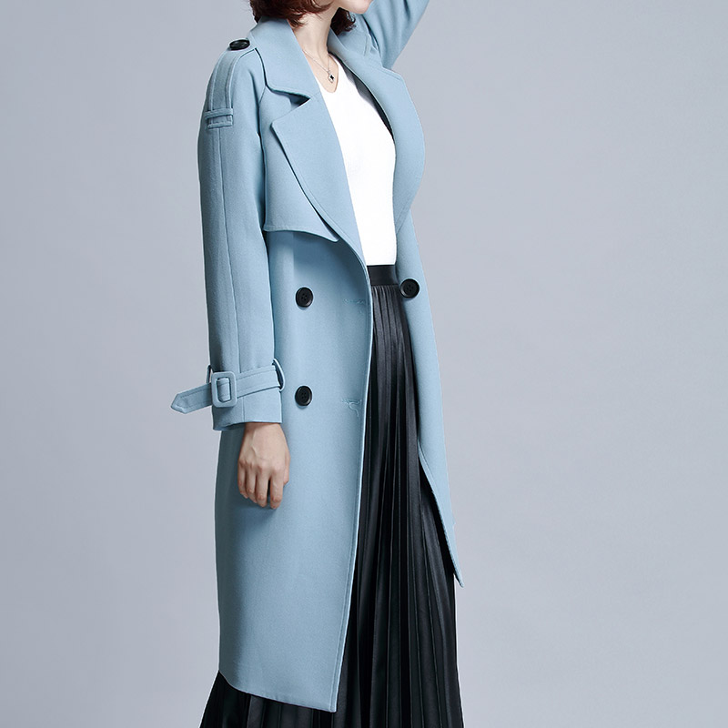 [139 yuan] clearance specials suit collar coat 2018 spring and autumn windbreaker women