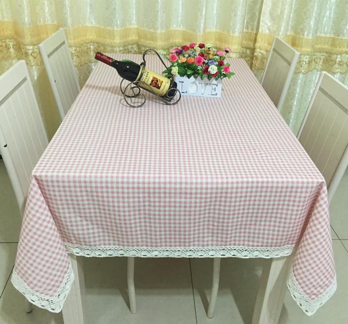 粉粉小清新桌布布艺