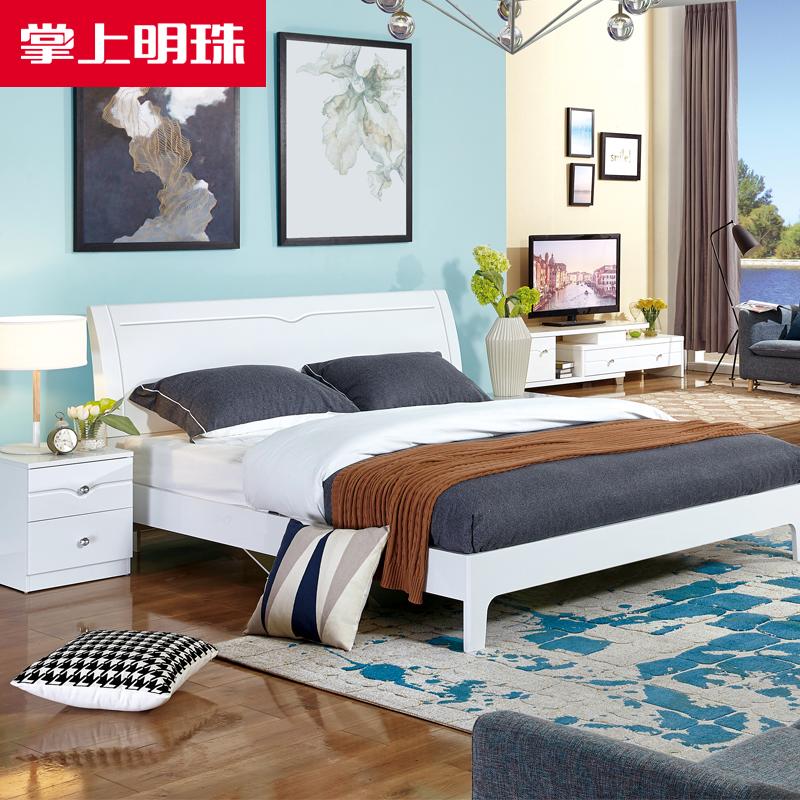 双人板式床
