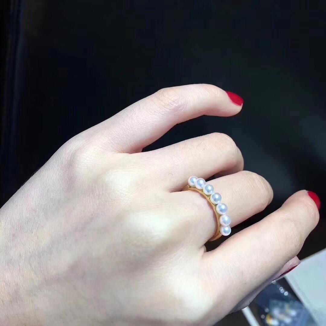 钱先森珍珠项链 海水珍珠裸珠 珍珠首饰