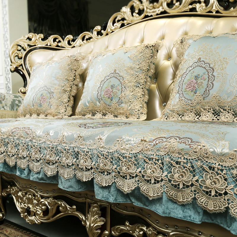欧式沙发坐垫奢华