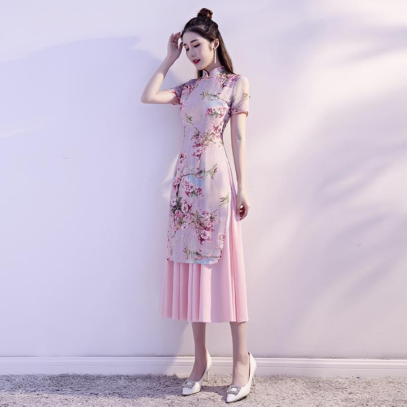 燕芳菲YFF19055旗袍