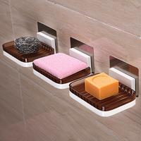 香皂盒创意沥水肥皂架免打孔肥皂盒吸盘壁挂式香皂架卫生间肥皂托