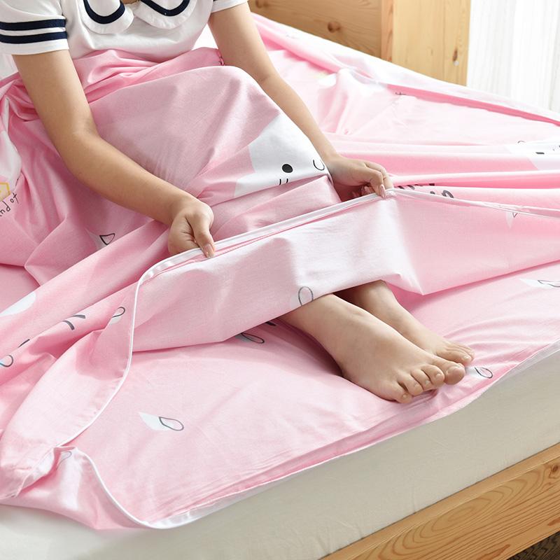 旅行酒店卫生全棉睡袋成人纯棉室内单双人出差隔脏便携式外出床单