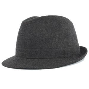 冠师傅 春秋冬季时尚毛呢礼帽 英伦中老年人户外休闲男士礼帽子