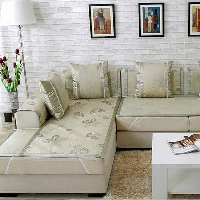 夏季沙发垫夏天凉席垫冰丝凉垫沙发坐垫客厅防滑沙发套全包萬能套