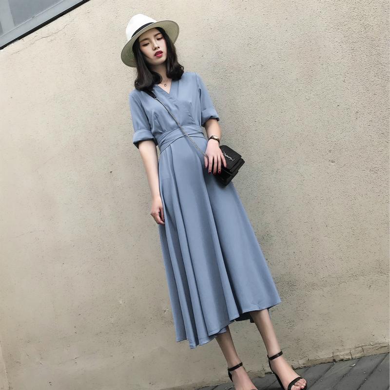 女式春夏长裙