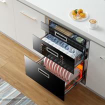 家用消毒柜小型迷你桌面单门挂壁式立式台式不锈钢碗柜大容量特价