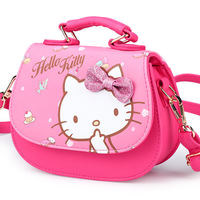 Hello Kitty Children's Bags Little Girl Princess Fashion Bag Girls Messenger Bag Baby Handbags Cute