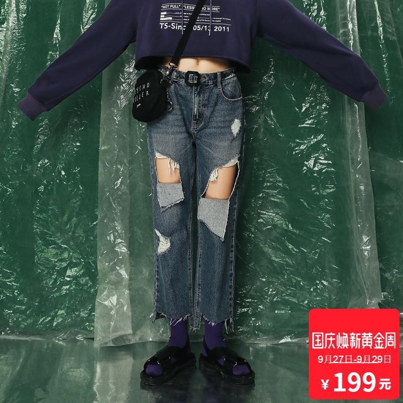 TS牛仔裤