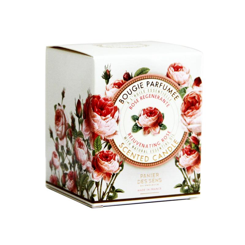 法国南法庄园诱惑玫瑰香薰蜡烛居家精油香薰用品清新空气舒缓情绪