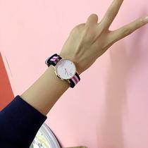 新款ulzzang2018聚利时女士手表女学生韩版简约时尚潮流防水小巧