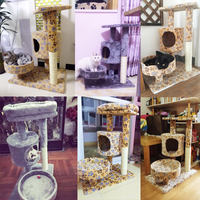 Cat climbing frame small sisal cat shelf cat litter one claw dog scratching plate cat toy cat frame cat jumping cat tree