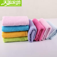 Tianyuan home textile special bamboo pulp fiber square children's face wash small towel wipes