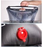Self-drive outdoor bath bag portable solar hot water bag 20L wild bath shower dry water bag water bag