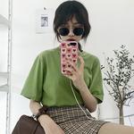 2018女夏装时尚格子