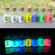 Diy material fluorescent sand powder luminous sand can make wishing bottle 7 color luminous particles crushed stone star bottle full set