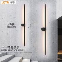 床头灯卧室创意客厅走廊酒店欧式可调光灯饰灯具led壁灯现代简约