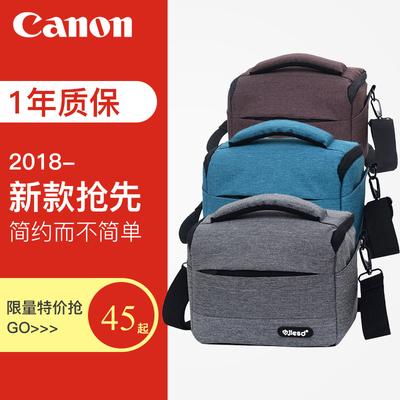 佳能相机包 单反单肩微单女摄影包200D750D600D800D70D 80D便携M6