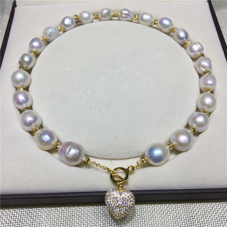 复古白珍珠