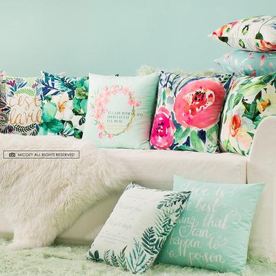 田园创意 沙发靠垫