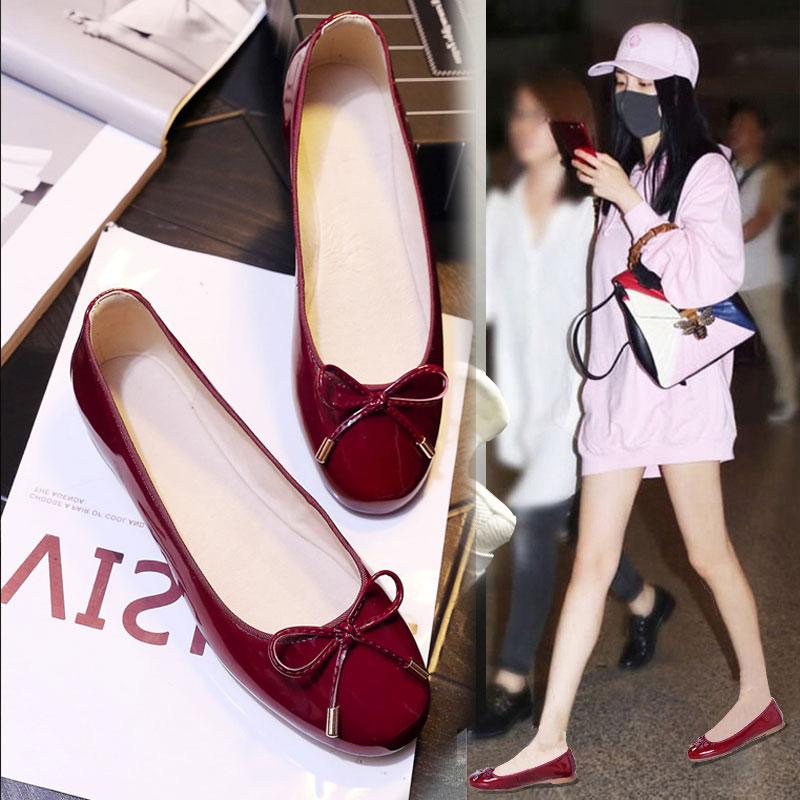 2018女坡跟单鞋