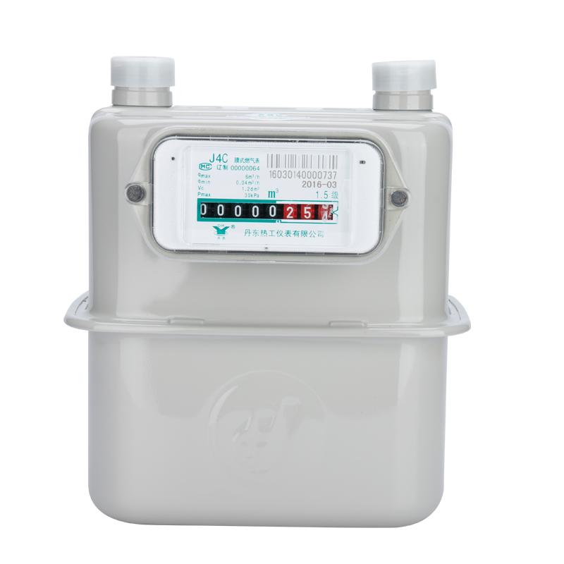 正品丹东家用天然气表 煤气表 膜式燃气表燃气表 (G4)J4C