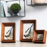 柔软时光美式古典简约实木相框创意家居软装画框摆台婚庆浪漫装饰