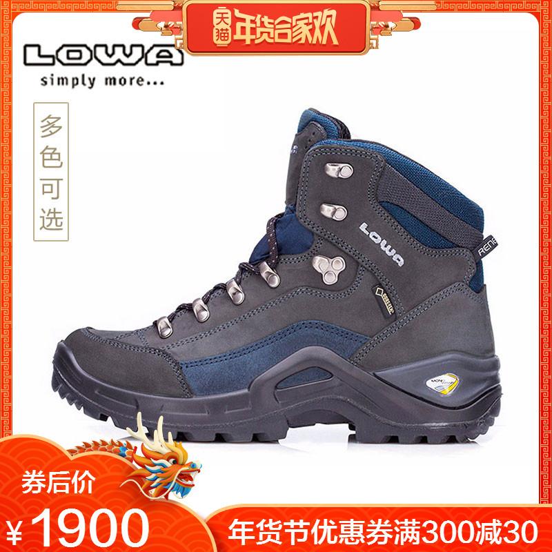 LOWA秋冬热卖防水登山鞋男女户外鞋RENEGADE GTX E徒步鞋L510952