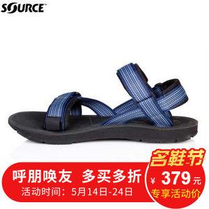 聚山脉户外SOURCE /溹思Stream Sport 中性款防滑快干溯溪凉鞋