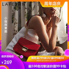 Lafite on the new small ck bag female 2019 new fashion chain small square bag wild shoulder bag Messenger bag